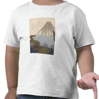 Mount Fuji Under the Snow T-shirt