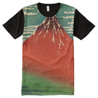 Mount Fuji view #2 All-Over Print T-Shirt
