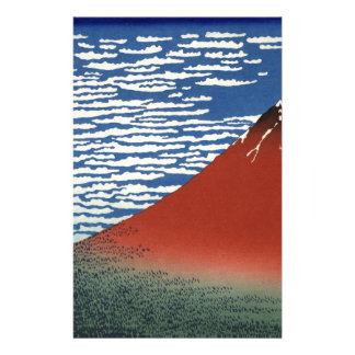 Mount Fuji Volcano Japan Painting Customised Stationery