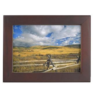 Mount Haggin NWR near Anaconda Montana Keepsake Box