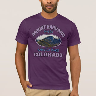 Mount Harvard, Colorado T-Shirt
