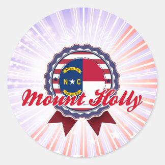 Mount Holly, NC Round Sticker