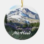 Mount Hood Christmas Ornaments