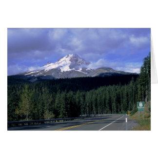 Mount Hood Highway Card