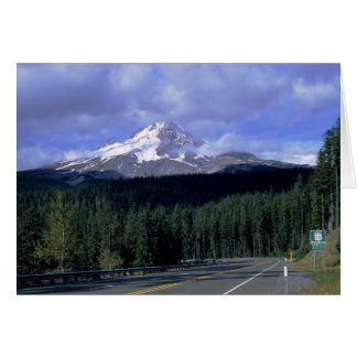 Mount Hood Highway Note Card