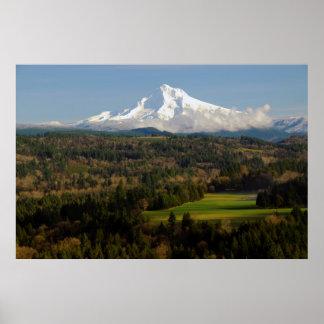 Mount Hood, Jonsrud Viewpoint, Sandy, Oregon Print