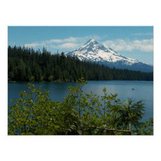 Mount Hood Landscape Photo Poster