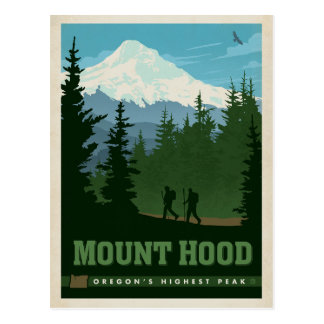 Mount Hood, OR Postcard