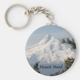 Mount Hood Photo Key Ring