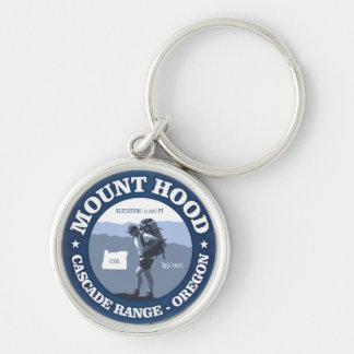 Mount Hood (rd) Key Ring