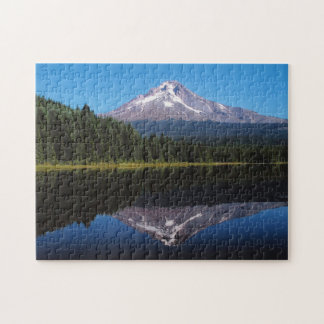 Mount Hood Reflected in Lake Jigsaw Puzzle