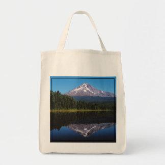 Mount Hood Reflected in Lake Tote Bag
