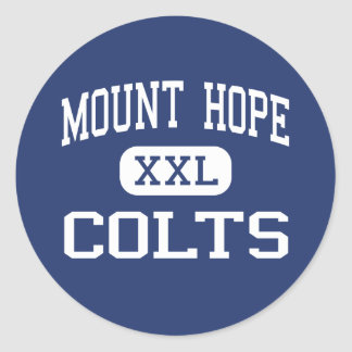 Mount Hope Colts Middle Mount Hope Classic Round Sticker
