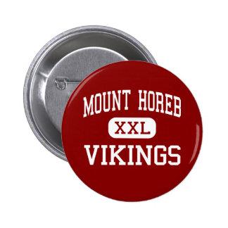 Mount Horeb - Vikings - Middle - Mount Horeb Pinback Button