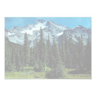 Mount Jefferson, Oregon, USA 5x7 Paper Invitation Card