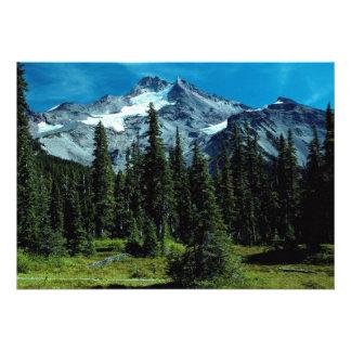Mount Jefferson Oregon USA Custom Invite