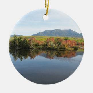 Mount Katahdin Christmas Ornament