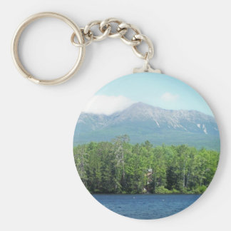 Mount Katahdin Key Ring