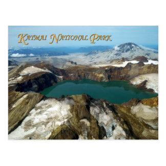 Mount Katmai, Katmai National Park, Alaska Postcard