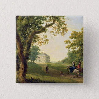 Mount Kennedy, County Wicklow, Ireland, 1785 (oil 15 Cm Square Badge