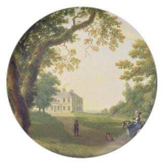 Mount Kennedy, County Wicklow, Ireland, 1785 (oil Plate