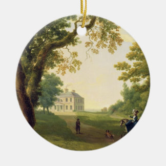 Mount Kennedy, County Wicklow, Ireland, 1785 (oil Round Ceramic Decoration