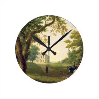Mount Kennedy, County Wicklow, Ireland, 1785 (oil Wall Clock