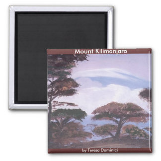 Mount Kilimanjaro Magnet