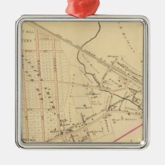 Mount Kisco, New York Christmas Ornament