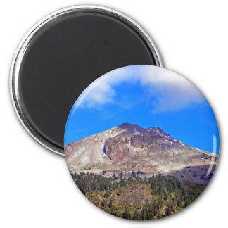 Mount Lassen Volcano Magnet
