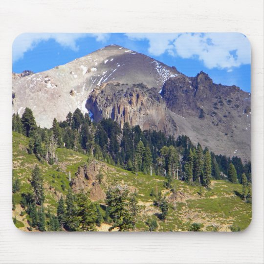 Mount Lassen Volcano Mouse Pad