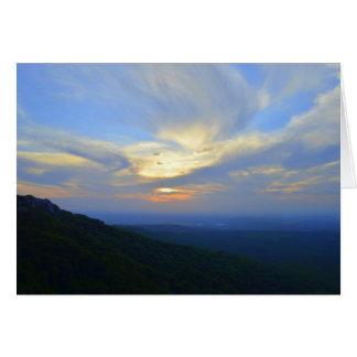 Mount Magazine, Arkansas, Sunset Card