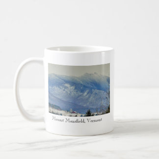 Mount Mansfield Vermont Mug