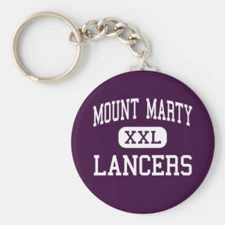 Mount Marty - Lancers - High - Cedar Rapids Iowa Key Ring
