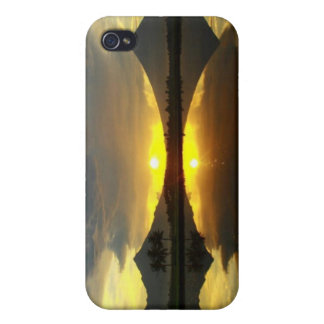 Mount Mayon Volcano, Hard Shell for Iphone 4/4S Cases For iPhone 4