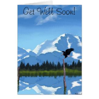 Mount McKinley Alaska Note Card