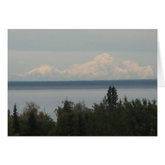 Mount McKinley or Denali Stationery Note Card