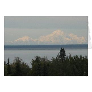Mount McKinley or Denali Note Card