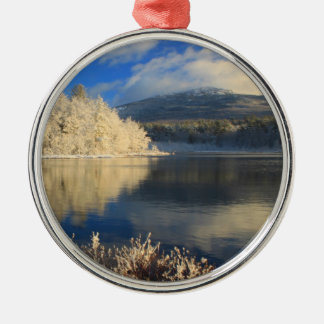 Mount Monadnock First Snow Christmas Ornament