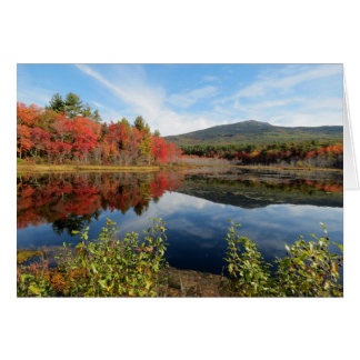 Mount Monadnock Scene Note Card