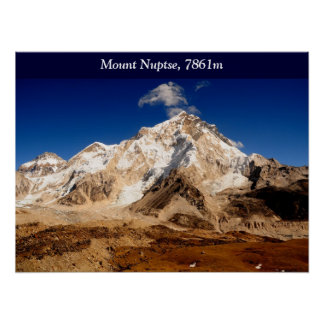 Mount Nuptse Posters