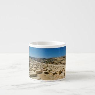 Mount of Olives Jewish Cemetery Jerusalem Israel Espresso Mug