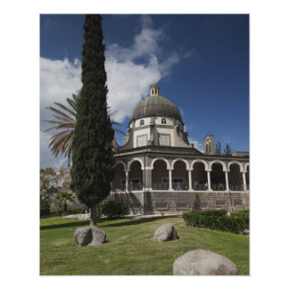 Mount of the Beatitudes Poster
