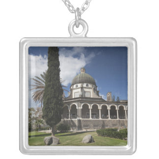 Mount of the Beatitudes Silver Plated Necklace