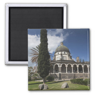 Mount of the Beatitudes Square Magnet