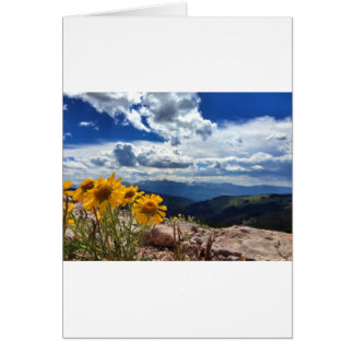 Mount of the Holy Cross Card