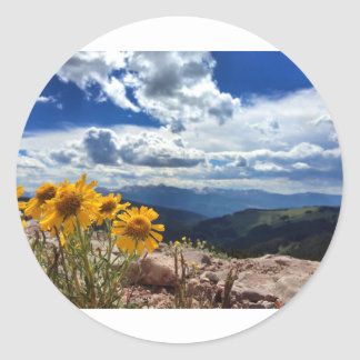 Mount of the Holy Cross Classic Round Sticker