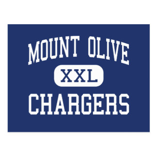 Mount Olive Chargers Middle Mount Olive Postcard