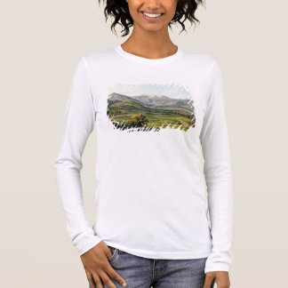 Mount Olympus, as seen between Larissa and Baba, p Long Sleeve T-Shirt