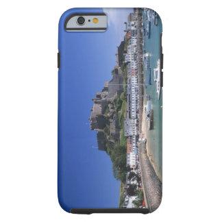 Mount Orgueil Castle and harbour, Gorey, Jersey Tough iPhone 6 Case